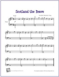 Printable Sheet Music
